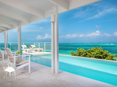 Photo for Beach Villa Sandstone, a 4BR with great snorkeling on Grace Bay Beach