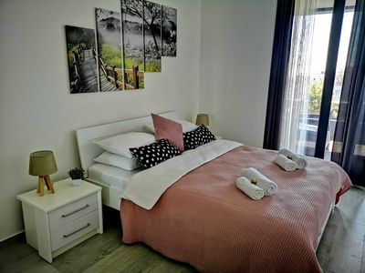 Photo for Orchid One bedroom Apartment, City centre near old town Budva, sea view