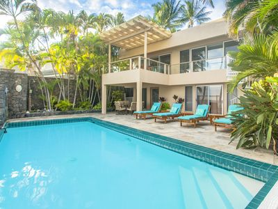 Photo for Luxury oceanfront Villa at Alli point with private Pool , 5 star history  !