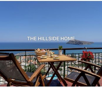 Photo for Holiday Home in Platanias with panoramic view over the gulf of Chania!