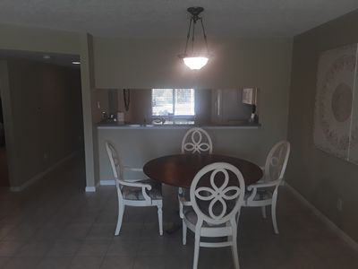 Photo for Naples 2 Bedroom 1st floor condo for rent on private lake.