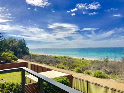Photo for BEACHFRONT: Fantastic position with AMAZING Jervis Bay views.
