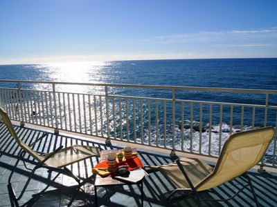 Photo for Luxury apartment with terrace and seaview, directly to the beach, 5 persons