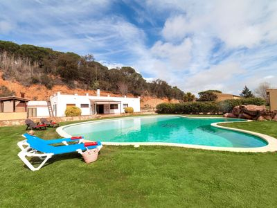 Photo for This 5-bedroom villa for up to 9 guests is located in Sant Feliu De Guixols and has a private swimmi