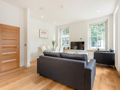 Photo for IN THE HEART OF FITZROVIA – SOHO - BEAUTIFUL 3BR IN THE BEST AREA OF LONDON!