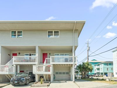 Photo for End unit Townhome- direct beach access, great ocean views & walk to restaurants!