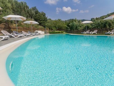 Photo for Two-room apartment in Resort with pool and garden
