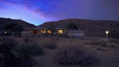 Photo for Mid Century Modern wonder in Joshua Tree w/Hot Tub and Private Mountain