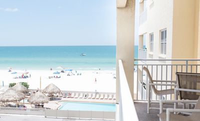 Photo for Unit #302 - Beautiful Gulf front view w/Large Jacuzzi and Heated Pool