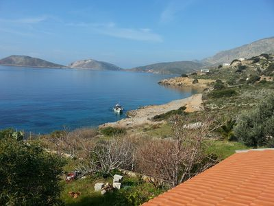 Photo for Apartment next to the sea and under climbing sectors. Quiet place excellent view