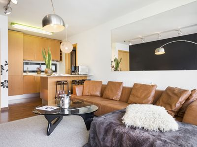 Photo for 2 rooms Sant Gervasi terrace and optional parking- 4 pax - free WiFi