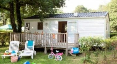 Photo for Camping Château La Forêt **** - Mobile home Mercure 2 Rooms 5 Persons