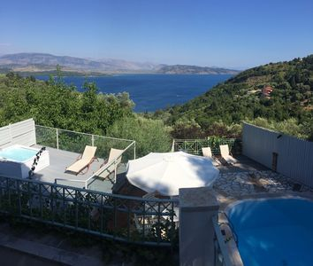 Photo for Villa Anastasia With Stunning Ionian Sea View and Private Pool