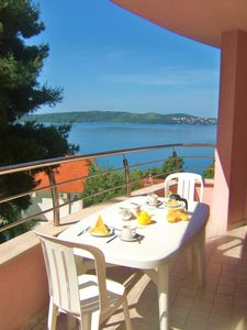Photo for Apartment With Sea View, Near Beach & Trogir Historic Centre