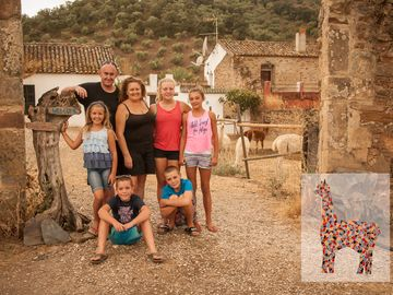 Experience Alpacas in Rural Cordoba! Stay in tranquil off-grid Olive Mill!