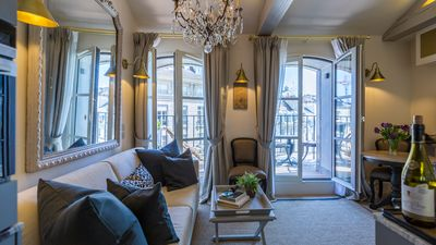 Photo for SALE! Perfect Amazing Penthouse for 2-Balcony-Ile de la Cite-AC-Wifi-Lift-Cafes