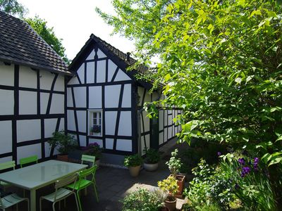 Photo for Idyllic renovated half-timbered cottage on the weekend from two nights