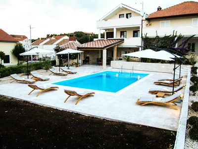Photo for Holiday apartment with pool use and barbecue