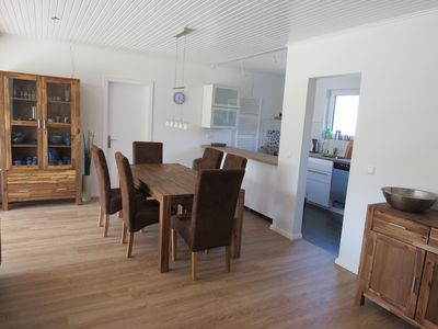 Photo for Modern holiday home for 2 to 7 people, 50m to the dike, single storey, 110m², garden