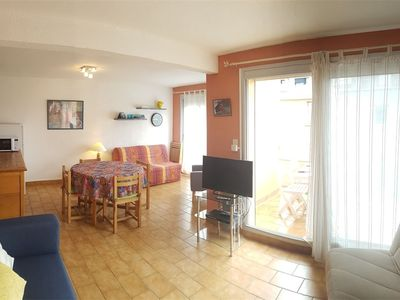 Photo for NARBONNE-PLAGE Nice 2-rooms flat