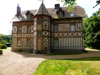 Photo for Charming 1900's Manor in NORMANDY between DIEPPE and FECAMP
