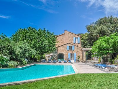 Photo for Holiday home with own garden in ancient masonry,  big pool, Mont Ventoux
