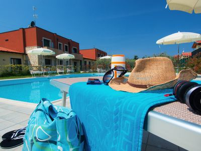 Photo for Bardolino, beautiful complex with pool away from the hustle and bustle not far from the lake