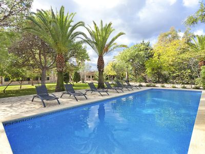 Photo for Stunning property with guest house, large pool, beautiful grounds, WIFI