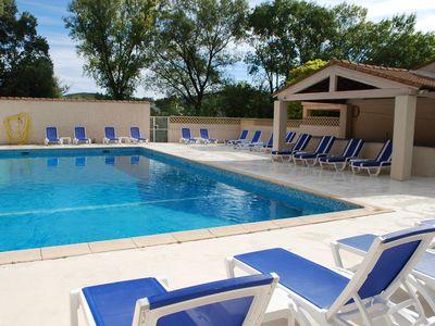 Photo for Superb accommodation near Quissac - Private estate with large pool