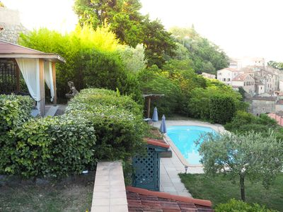Photo for Beautiful villa with private pool situated in the charming village of Fayence