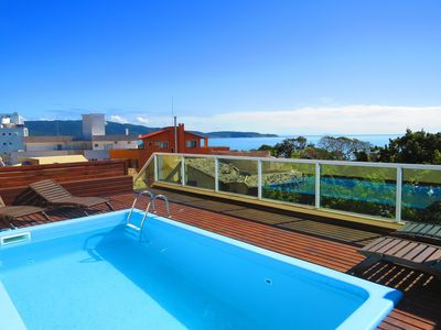 Photo for Cód 161 Penthouse with Pool 70 meters from the Beach with Sea View