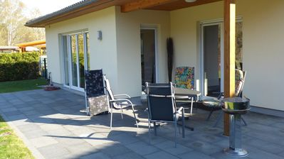 Photo for Cottage on Scharmützelsee. 4 * DTV. Exclusive bungalow on a large plot