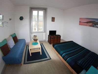 Photo for Center apartment near train station + breakfast included