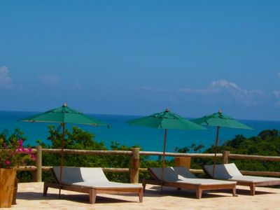 Photo for Maceió / House with 2 bedrooms and swimming pool on the balcony at Villas do Pratagy Resort