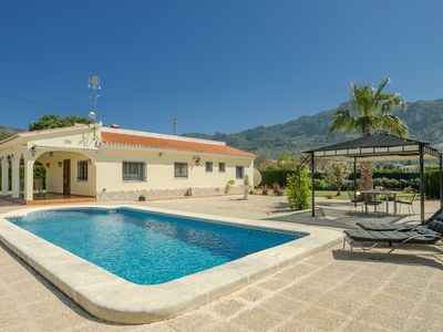 Photo for Outstanding Villa in Valencia on Mountain with Private Pool