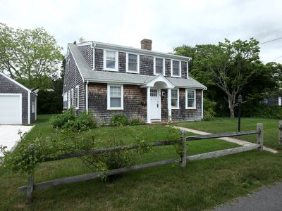 Photo for Lovely Cape Cottage for 1-2 families! 1 block to Keyes Beach (4.5 BR;  2 BA)