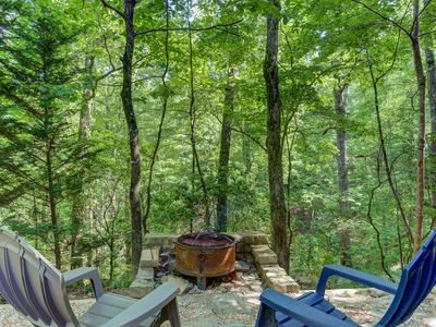 Photo for Secluded cabin w/ private hot tub, large porch, gas fireplace & pool table!