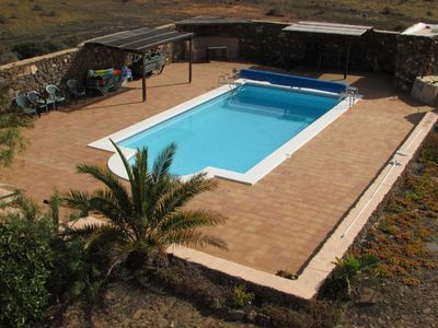 Photo for House in the center of Las Casitas with Internet, Pool, Garden, Balcony (970160)