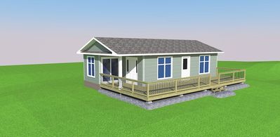 Photo for Brand New Modern Water-View Cottage with A/C