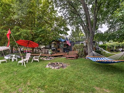 Photo for NEW! Waterfront Home on Portage Lake w/Dock & Deck