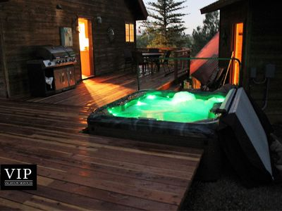Photo for Hot Tub: Hike, Fish, Ride, Eat, Drink or just relax in the Spa