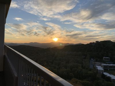 Photo for CLOUD NINE   - 9th FLOOR: Stunning Mountain Top & Ski Slope Views: SLEEPS 6!