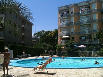 Photo for 1 bedroom pool apartment 500m from the beach of Salou