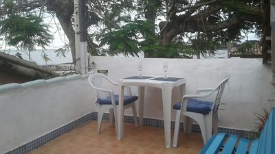 Photo for Beautiful central colonial apartment with beautiful sea view