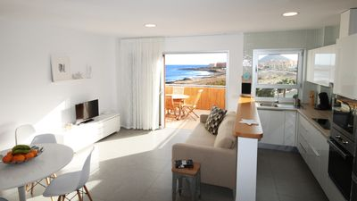 Photo for FANTASTIC SEA VIEW APARTMENT ON 3 LEVELS WITH POOL, LARGE WIND-PROTECTED TERRACE