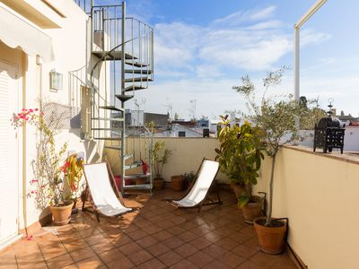 Photo for Castellar Terrace. Duplex with 2 bedrooms and private terrace