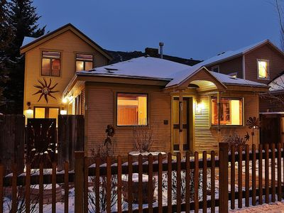 Photo for Artfully Renovated Old Town Home | Sleeps 8 | Quick Walk to Skiing and Main St.