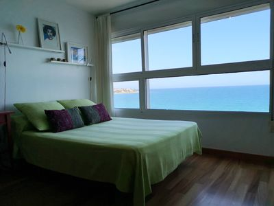 Photo for Green loft over the sea. Free Wifi, AC. Ideal couples in Albufereta