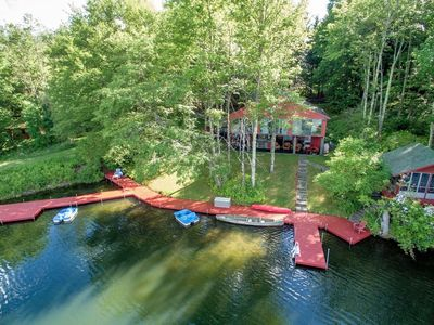 Photo for Private Lake Retreat on 30+ acres
