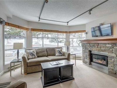 Photo for Woodrun Lodge #206 - TRUE SKI IN/OUT - Free Shuttle, Parking & WIFI - Pool!